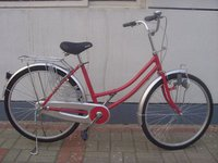 Steel Frame Lady Bi-Cycle