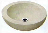 Round Shape Sandstone Sinks