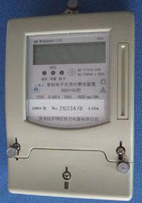 Single Phase Static Prepayment Meter