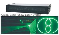Single Green 532nm Beam Show Laser Light System