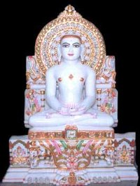 Marble Budhha Idol