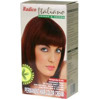 Italiano Burgundy Hair Color Cream
