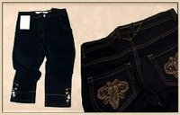 Embroidered Ladies Jeans