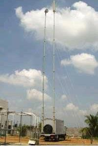 Electro Mechanical Telescopic Mast