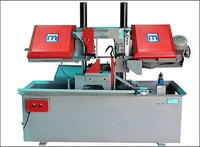 Manual Double Column Band Saw Machine