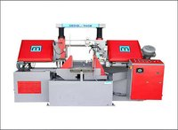 Double Column Band Saw Machine Nc Control With Servo Drive