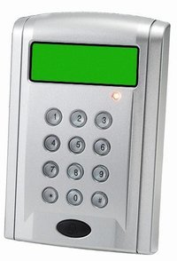 Access Control Device With Lcd