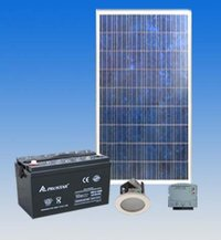 Led Based Solar Home Light System