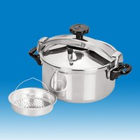 Short Body Straight Shape Pressure Cooker