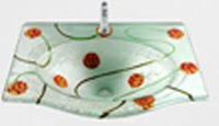 Decorative Glass Basins