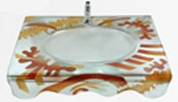 Decorative Glass Wash Basins