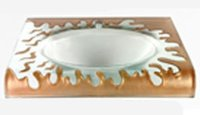 Elegant Glass Wash Basins