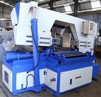 Pivot Type Horizontal Metal Cutting Bandsaw Machine