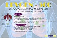 LEVOFLOXACIN 500 mg. Tablets