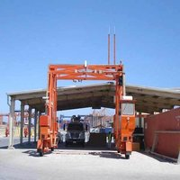 Mobile Container Scanning Straddle Carrier
