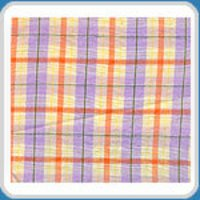 Texturised Checks Fabric