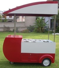 Mobile Hot Food Cart