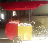 Hot And Cold Tricycle Food Cart