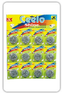 Cello Shine Stainless Steel Scrubber