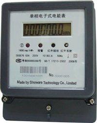 Single Phase Multi-rate Energy Meter