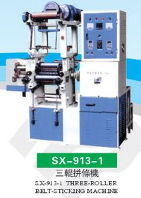 Three-Roller Belts Sticking Machine