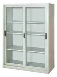 Glass Moving Door Cabinet