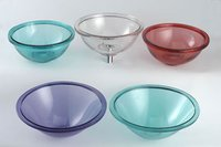 Elegant Transparent Basin Bowls