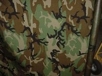 Nylon Camouflage Fabrics Coated