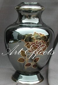 Arcadia Rose Brass Cremation Urn
