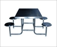 S.S. Four Seater Dinning Table
