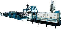 PET, PMMA, ABS, PC, HIPS, PP, PE Multi Layer Co-extrusion Sheet Production Line