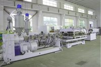 PE/PVC Double Wall Corrugated Pipe machine