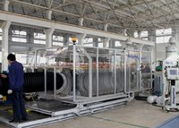 ZC-500H PE DW Corrugated Pipe Machinery