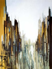 City Scape Oil Paintings
