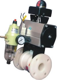 Pneumatically Actuated Ball Valves