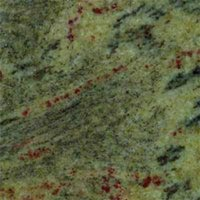 Polished Granite Slabs Tropical Green
