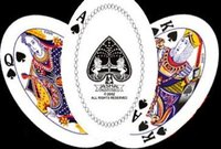 Oval Shape Playing Cards