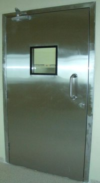 Hermetically Sealed Manual Operated Swing Doors