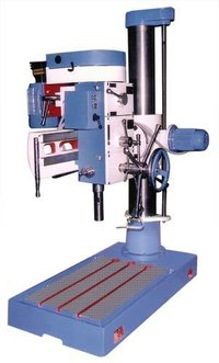 Double Column Radial Drill Machinery