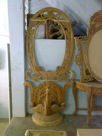 Console With Frame