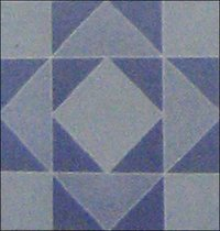 Blue Diamond Tiles