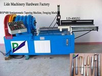 Semiautomatic Taper Pipe Machine