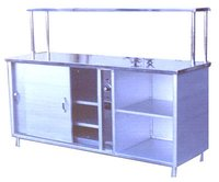 Pick-up Counter with Hot-Case