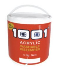 1001 Acrylic Washable Distemper