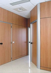 Official Wooden Partition
