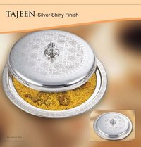 Silver Shiny Tajeen