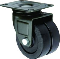 Nylon+Double Ball Bearing Caster Wheel