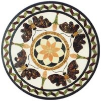 Round Shape Marble Floor Tiles