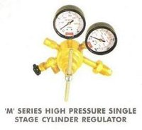 'M' Series High Pressure Single Stage Cylinder Regulator