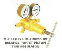 'Mh' Series High Pressure Balance Poppet Piston Type Regulator